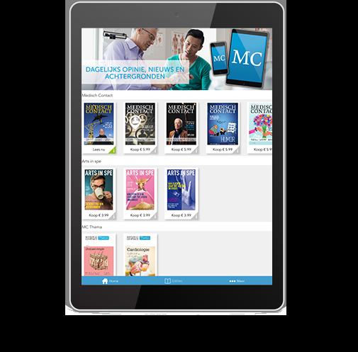 Template tablet MC
