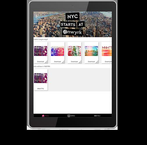 Template tablet NY