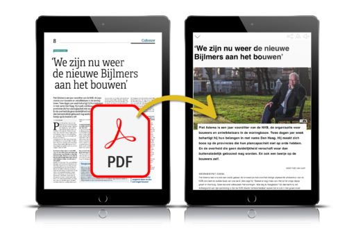 clippen pdf uitgevers clipping content
